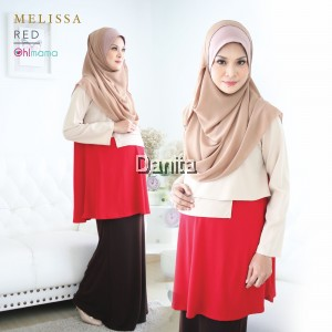Melissa Blouse Red