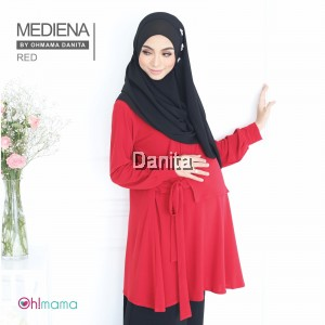 Mediena blouse Red