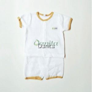 Baju Baby White
