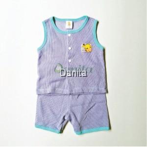 Baju Baby Tanpa Lengan Purple
