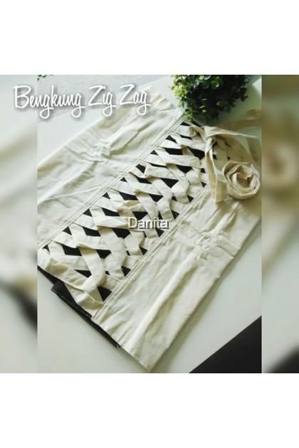 Bengkung Zig Zag Danita (tiada zip)